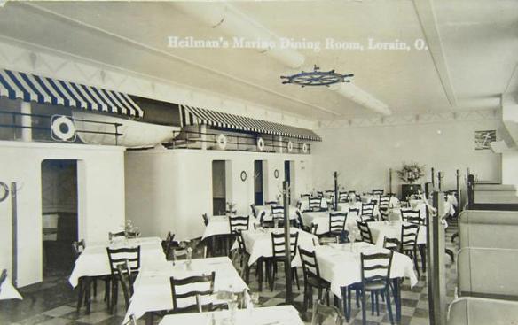 Marine Dining Room, Lorain, Ohio - image by http://danielebrady.blogspot.com