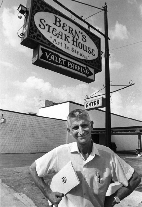 Bern Laxer - image by Bern's Steak House via Tampa Bay Business journal