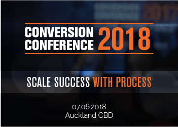 Conversion Conference 2018 – Scale Success with Process