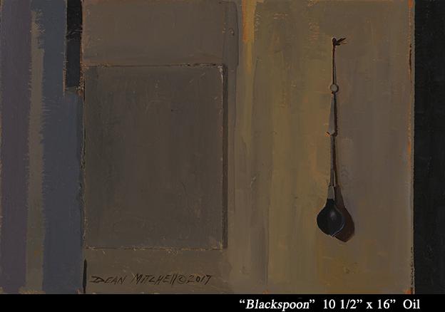 """Blackspoon  Oil 10 1/2"""" x 16"""""""