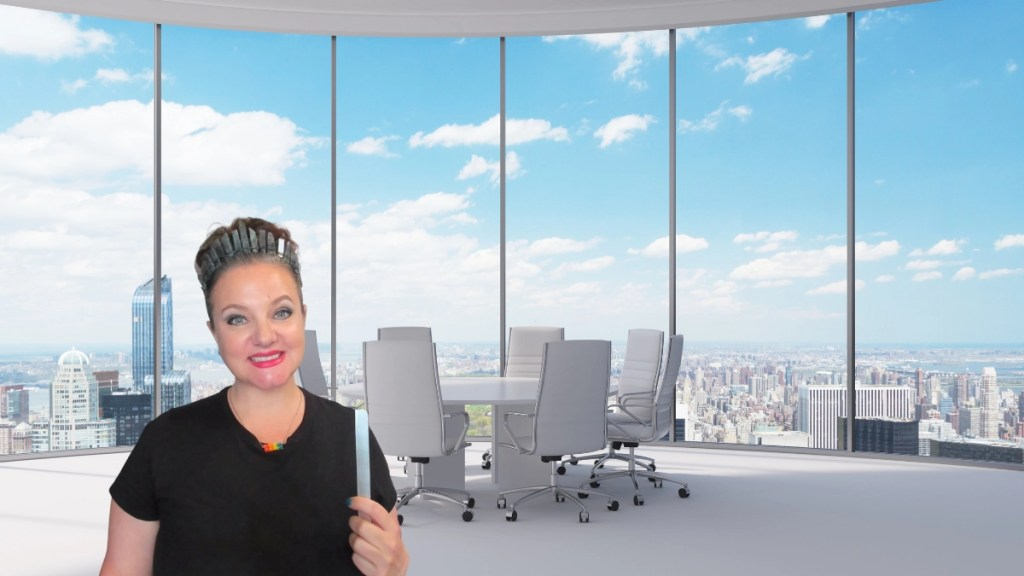 Deanna Castro Your Business Fairy Godmother in an office