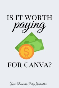 Is it worth paying for canva