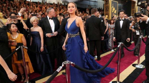 Brie Larson in Gucci. Looking a little more glamorous than when I saw her at the Brisbane Airport.