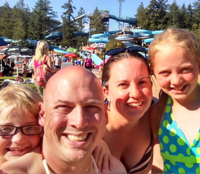 We had a great family day at the Cultus Lake Waterslides. I love me some water slides and I love me this crew!