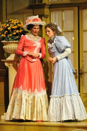 The Importance of Being Earnest photo by Rob Jones; Pictured with Mindy Anders