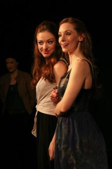 As Emilia in OTHELLO @ Titan Theatre Co. NYC; Photo by Lance Finney; With Emily Trask
