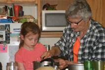 Grandma Florence & Teegan in Rico, CO July 1 2016