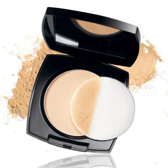 Avon True Color Flawless Mattifying Pressed Powder
