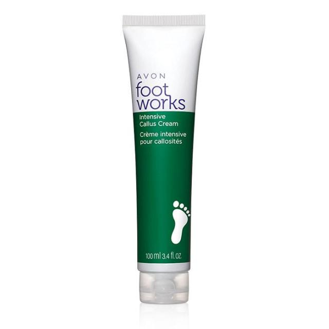 Avon's Foot Works Intensive Callus Cream