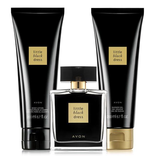 black dress fragrance collection