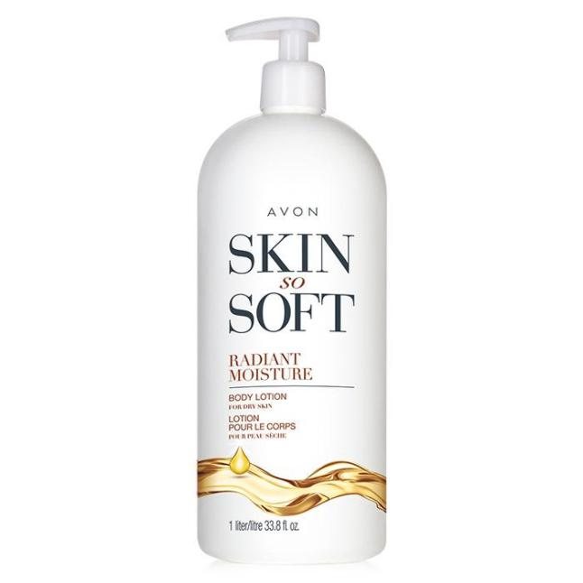 Avon's Skin So Soft Bonus Size Radiant Moisture Body Lotion
