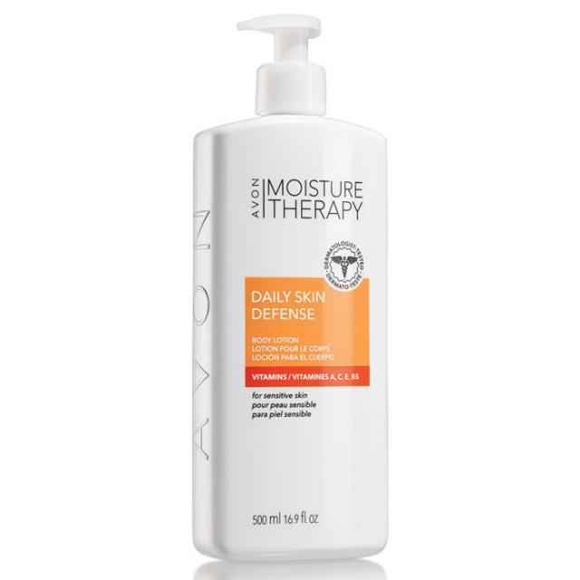 Moisture Therapy Daily Skin Defense Body Lotion
