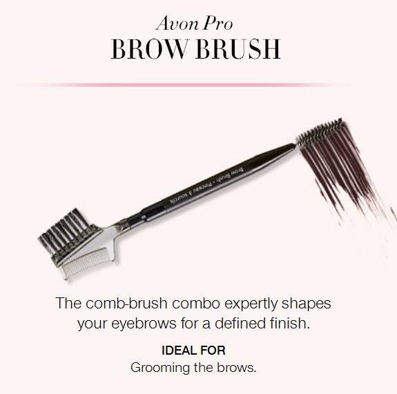 Avon's makeup brushes