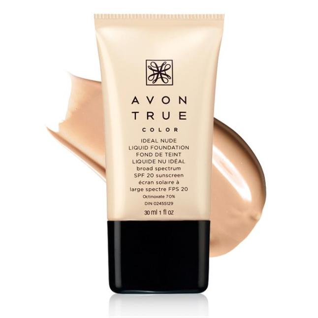 Avon True Color Ideal Nude Liquid Foundation