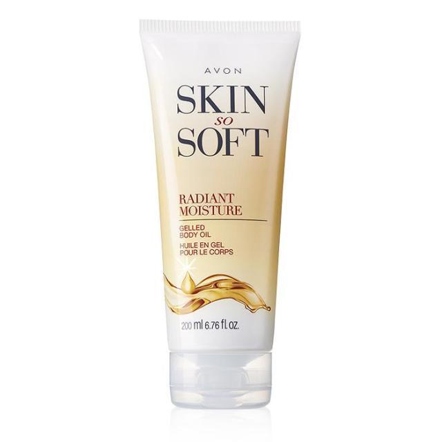 Avon Skin So Soft Radiant Moisture Gelled Body Oil