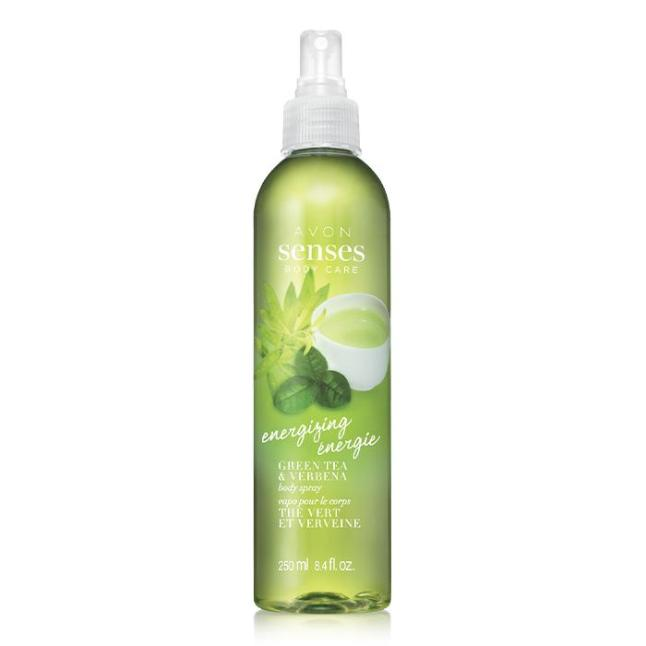 Avon Senses Energizing Green Tea & Verbena Body Spray
