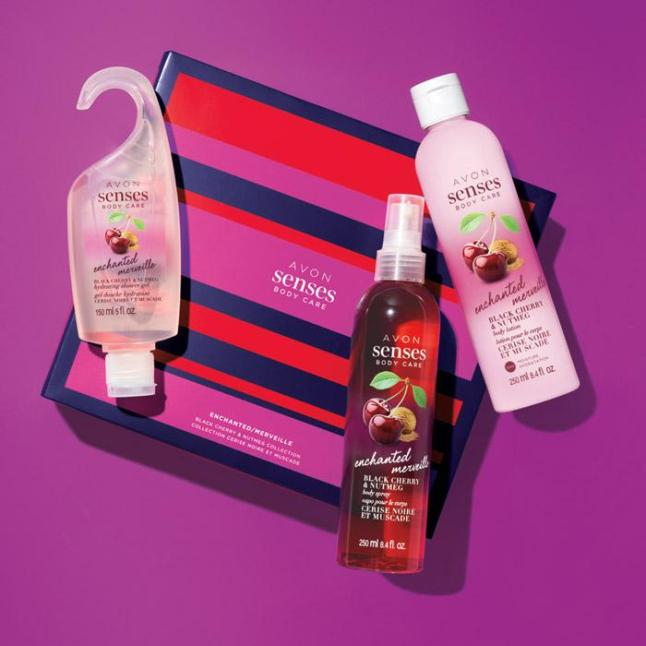 Avon Senses Limited Edition Holiday Gift Sets