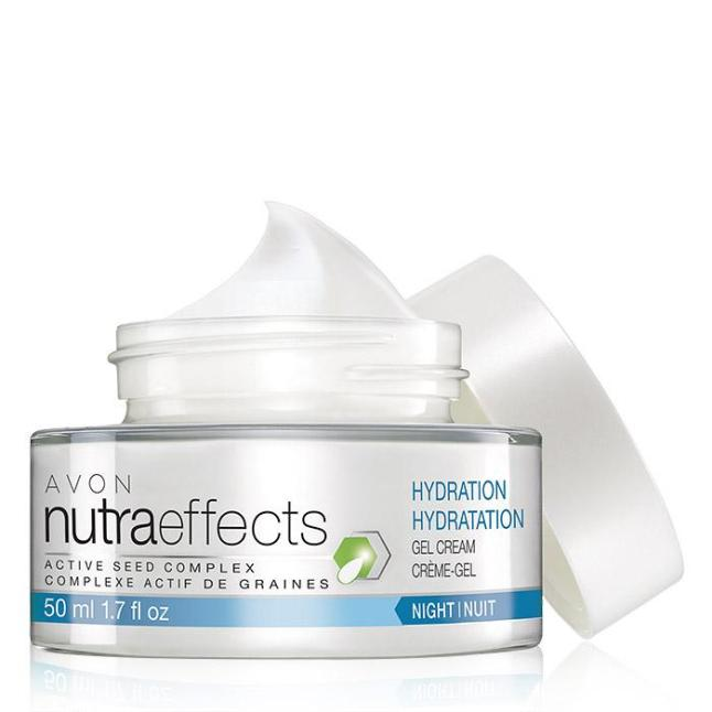 Avon nutraeffects Hydration Night Gel Cream