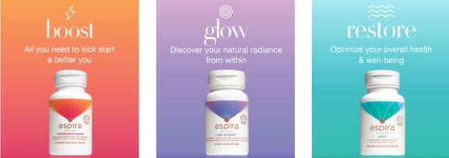 Espira Avon's Health and Wellness Line