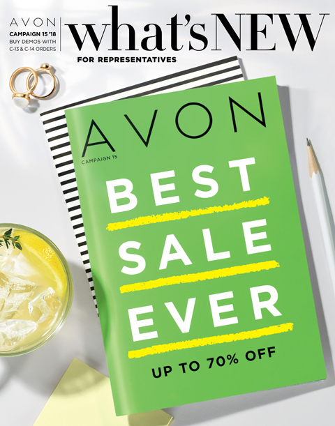 Avon What's New Demo Book for Campaign 15 2018