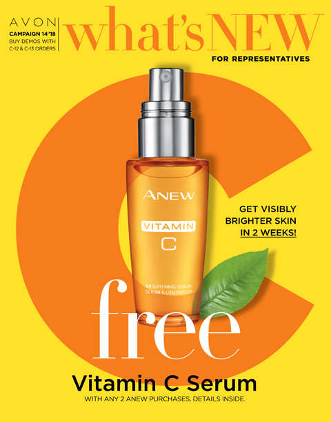 Avon What's New Demo Book for Campaign 14 2018