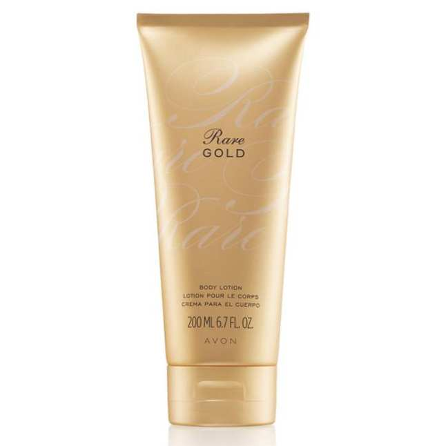 Avon Rare Gold Body Lotion