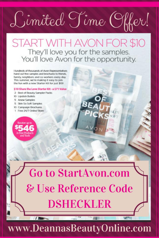 Start Selling Avon