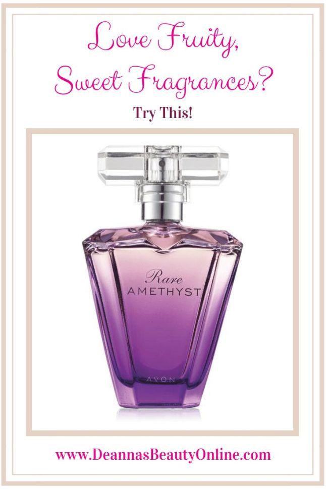 Avon Rare Amethyst Perfume