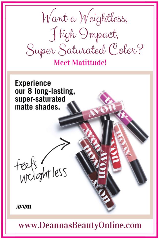 Avon Mattitude Liquid Lipstick