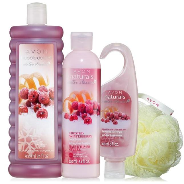 Avon's Limited Edition Frosted Winterberry