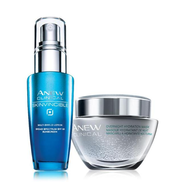 Avon's Power Couple Auto Replenish Regimen