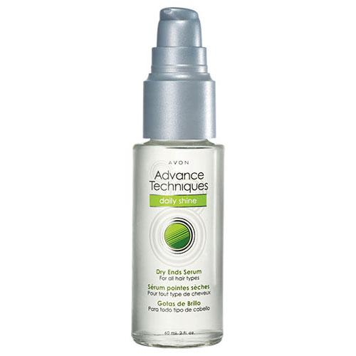 Avon's Advance Techniques Daily Shine Dry Ends Serum