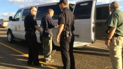 Detainees were put in shackles and transported to the county jail - two hours away.