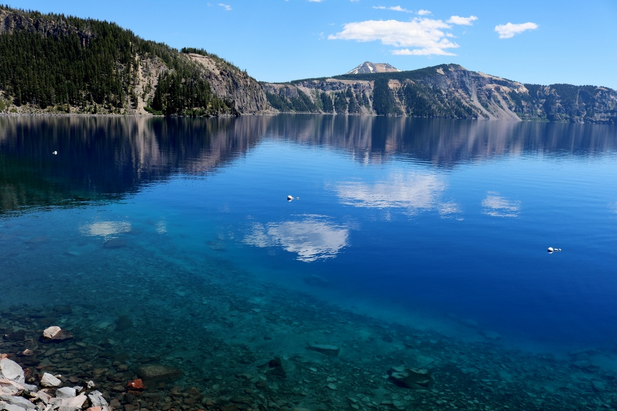 Crater Lake National Park – Down by the Water