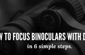 binoculars diopter adjustment