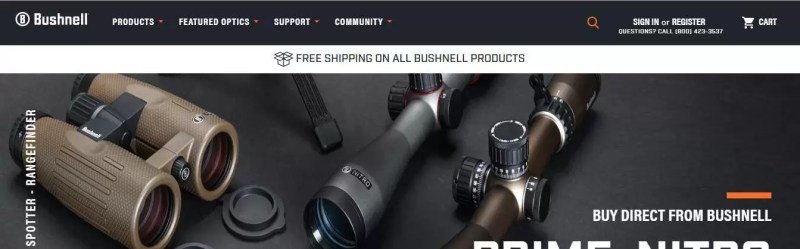 Bushnell Optics and Binoculars