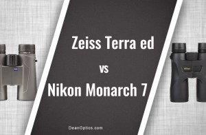 Nikon Monarch 7 vs Zeiss Terra ed 10x42 binoculars compared
