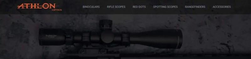 athlon optics binoculars brand