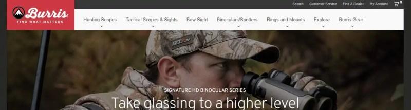 burris binoculars brand