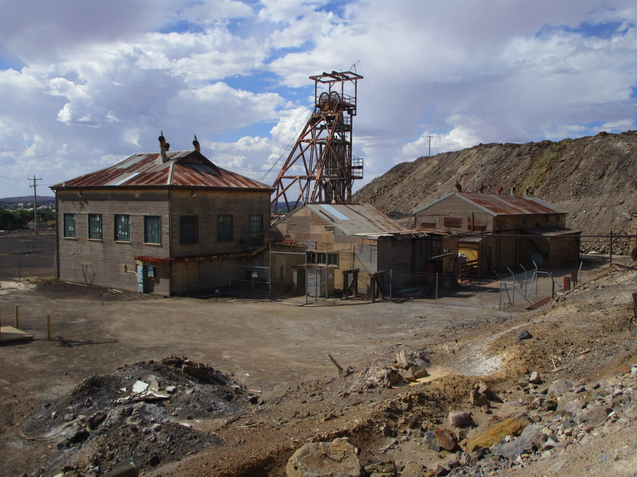 Remnants of the Past: Old BHP Mine, Broken Hill