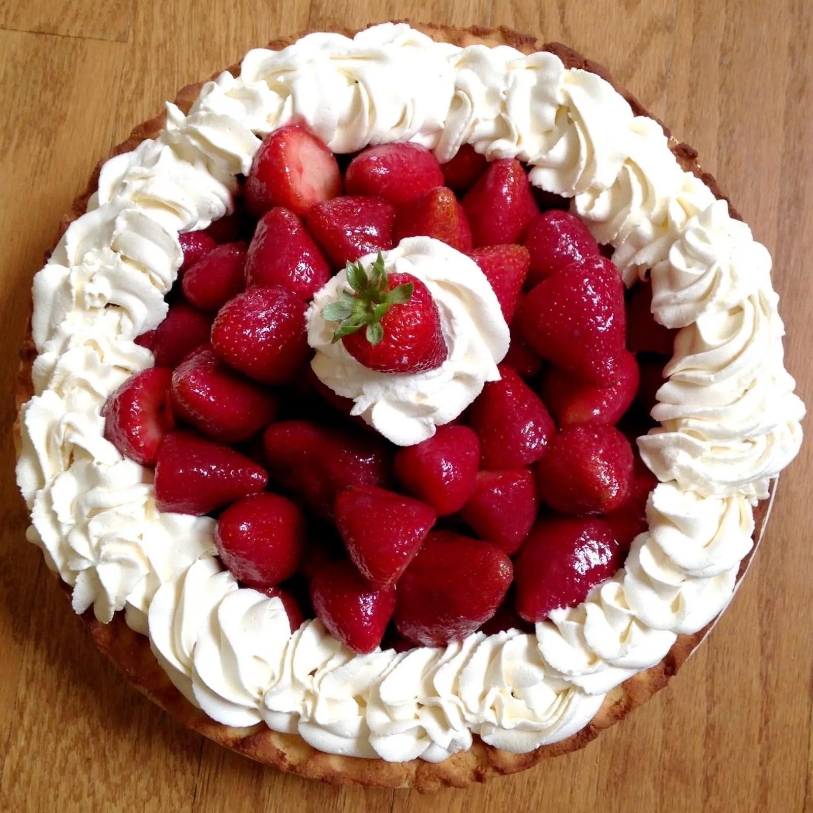 "Did Somebody Say, ""Strawberry Pie."""