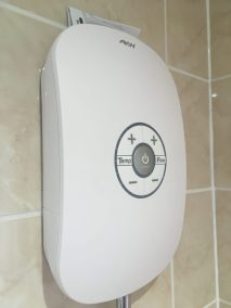 AKW easy to use accessible shower for inclusive wet room Kendal