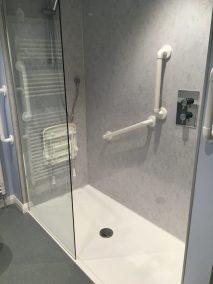 Walk in shower Kendal - Accessible walk-in shower