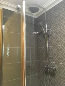 Ambleside shower room - after - shower area