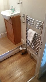 Shower room Ambleside - before - basin area