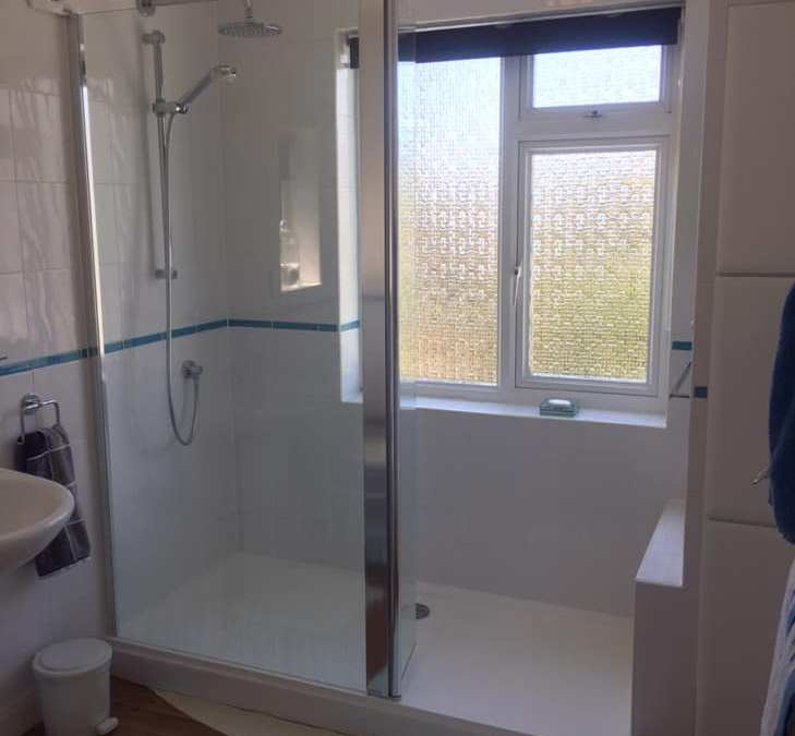 Recent project – bathroom to shower room