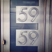 59E59 Theaters logo front door