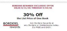 30% Off coupon