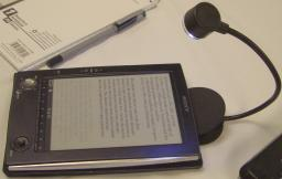 Sony Reader with Clip On Light