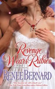 Cover image of Revenge Wears Rubies by Renee Bernard